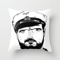 Das boot Throw Pillow
