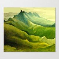 The Pinnacles Canvas Print
