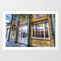 The Punch And Judy Pub C… Art Print