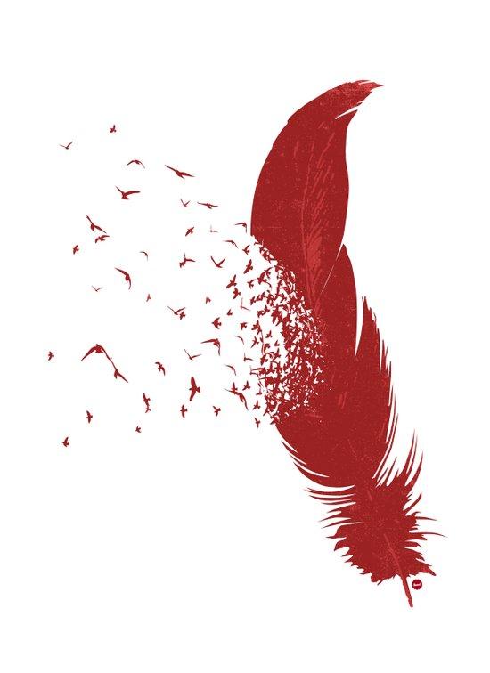 Birds of A Feather (Society6 Edition) Canvas Print