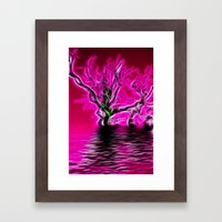 Rising From The Depths Framed Art Print