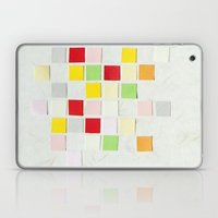 Colour Blocks Papercut Laptop & iPad Skin