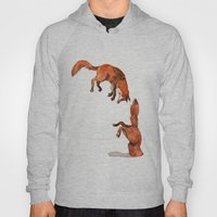 Jumping Red Fox Hoody