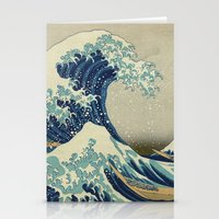 The Great Wave off Kanagawa Stationery Cards