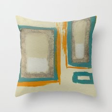Soft And Bold Rothko Inspired Throw Pillow