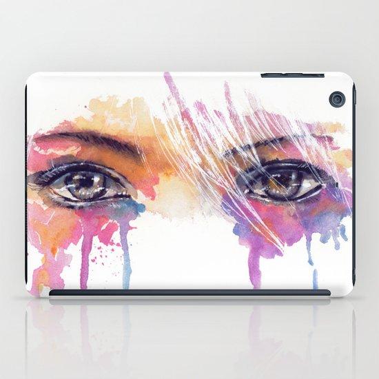 Rainbow Tears iPad Case