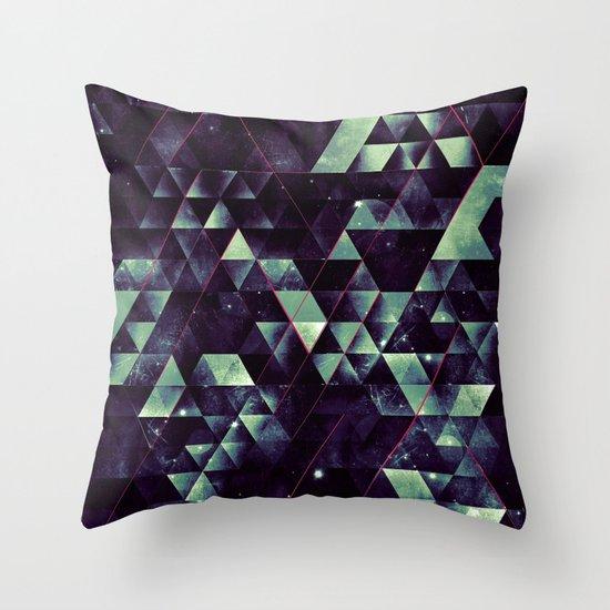 RYD LYNE STYRSHYP Throw Pillow