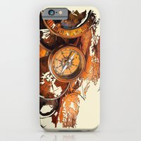 iPhone & iPod Case featuring Vintage Compass by Robin Curtiss