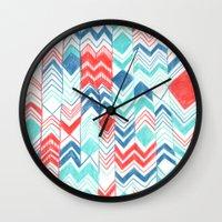 Pattern 31 Wall Clock