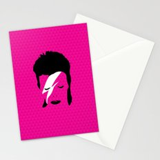 Ziggy Stardust - Pink Stationery Cards