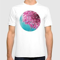 ALLIUM Mens Fitted Tee White SMALL