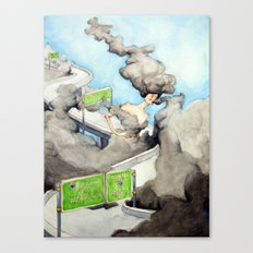 The Alluring Annoyance of...Overcast Canvas Print