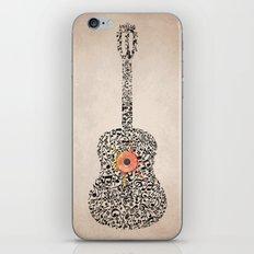 Guitar Notes iPhone & iPod Skin