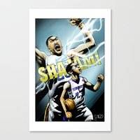 The Brow Of SHAZAM! Canvas Print