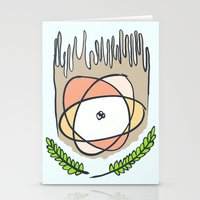 science Stationery Cards featuring SCIENCE! by Ooomami