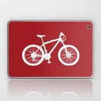 Mountain Bike Red Laptop & iPad Skin
