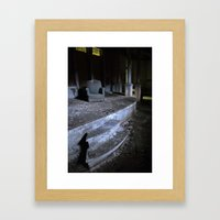 Save Me A Seat Framed Art Print