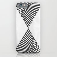 iPhone Cases featuring Time by MissCrocodile63