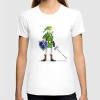 pixel T-shirts featuring Pixel Link by Michael B. Myers Jr.