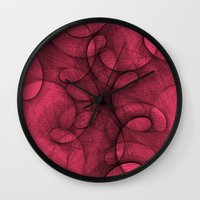 She Was Driven to Distraction Wall Clock