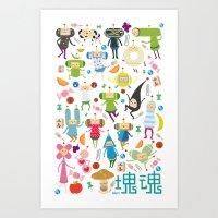 KATAMARI DAMACY Art Print