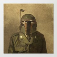 General Fettson (square format)  Canvas Print