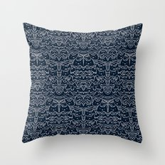 Wave of Cats Throw Pillow