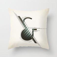 Ampersand Construction Throw Pillow