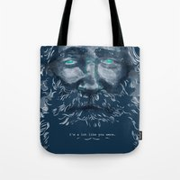 Old Man Tote Bag