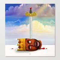 My Beautiful Dark twisted Fantasy Canvas Print