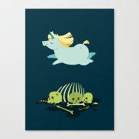 Chubbycorn Canvas Print