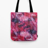 Red Mess Tote Bag