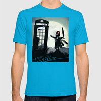 Who Kid Mens Fitted Tee Teal SMALL