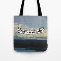 Literally No One Cares Tote Bag