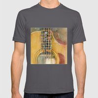 Taylor Guitar Mens Fitted Tee Asphalt SMALL
