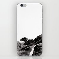 The road below the mountains iPhone & iPod Skin