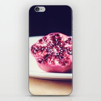 iPhone & iPod Skin featuring pomegranate by Mary Carroll