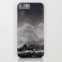 Mountainscape Black and White iPhone 6 Slim Case