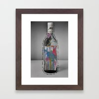 That's What Drugs And Alcohol Are For Framed Art Print