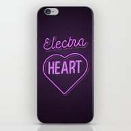 iPhone & iPod Skin featuring Electra Heart - Marina A… by Nicholas Musi