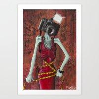 I'll Make You Love Me, P… Art Print