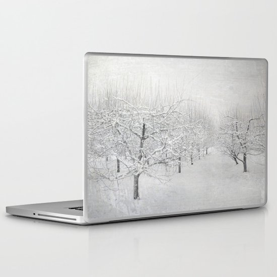 Winter Apple Orchard Laptop & iPad Skin
