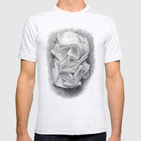 drape Mens Fitted Tee Ash Grey SMALL