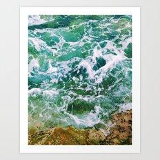 Waves pt. 4 Art Print