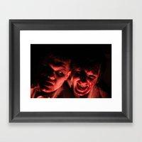 Zombies! Framed Art Print