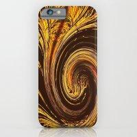 Golden Filigree Germination iPhone 6 Slim Case