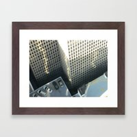 From Above 3 Framed Art Print