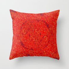 THE RED EYE EXPRESSion Throw Pillow