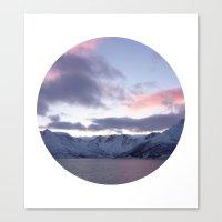Telescope 8 Ice Mountain… Canvas Print