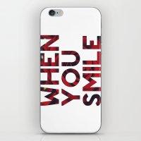 I Smile... iPhone & iPod Skin